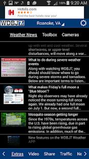 WDBJ7 Weather & Traffic- screenshot thumbnail
