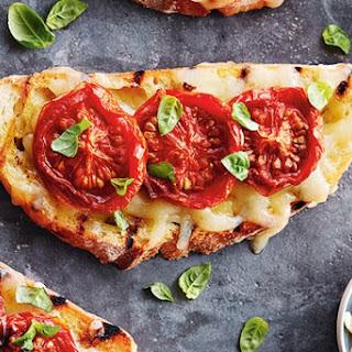 Smoked Tomato Bruschetta with Canadian Gouda Recipe