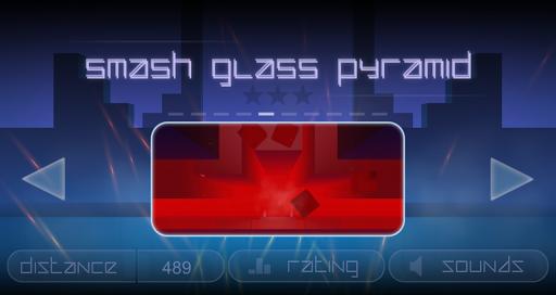 Smash Glass Pyramid  screenshots 1