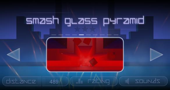 Smash Glass Pyramid - náhled
