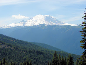 Photo: Mt. Rainier from the Noble Knob Trail