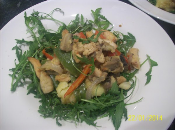 Warm Chicken Salad With Balsamic  Vinegar Recipe