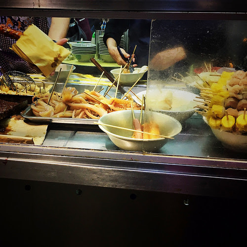 Hong Kong, Street Food, 香港, 街頭小吃, skewers