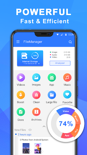 file manager pro with best booster and analyzer screenshot 3