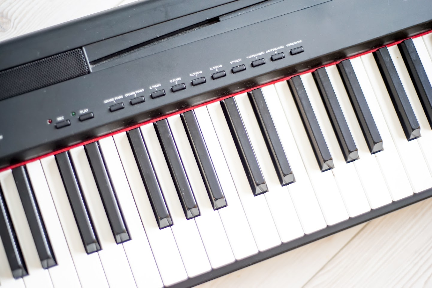 Yamaha p85 stage digital full size piano 88 key weighted keyboard standdelivery for Yamaha fully weighted keyboard