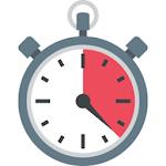 Centi-Minute Stopwatch Icon