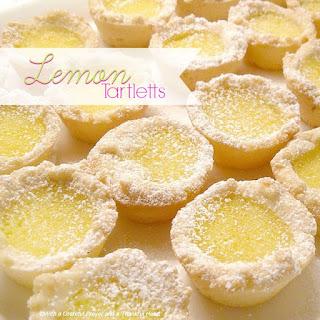 Lemon Tartlets.