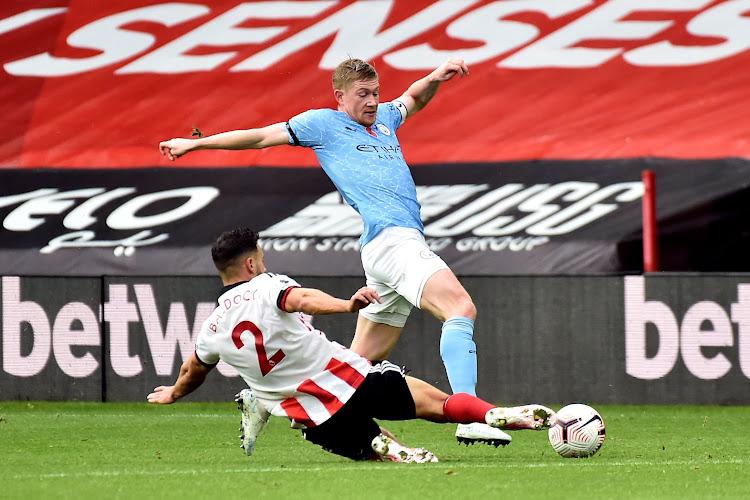 Assist van De Bruyne volstaat voor Manchester City tegen Sheffield United