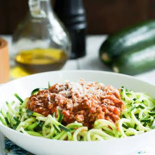 Ground Turkey Zucchini Pasta Recipes.