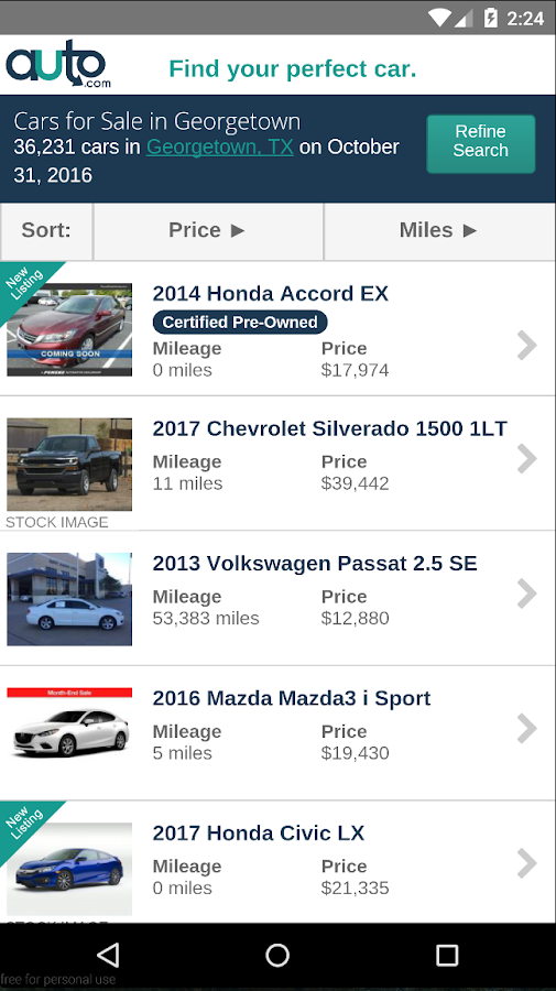 Auto - Used Cars And Trucks- screenshot