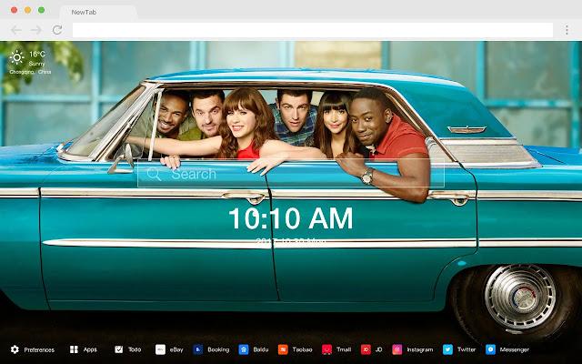 Lamorne Morris Pop HD Star New Tab Page Theme