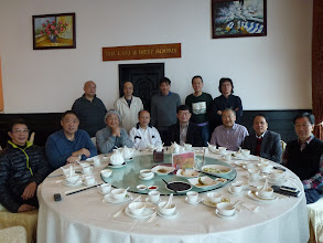 Photo: Lunch at the Police Officer Club on Dec 6, 2012. Hung Hin Cheung & Francis Wu Yu On among the attendees