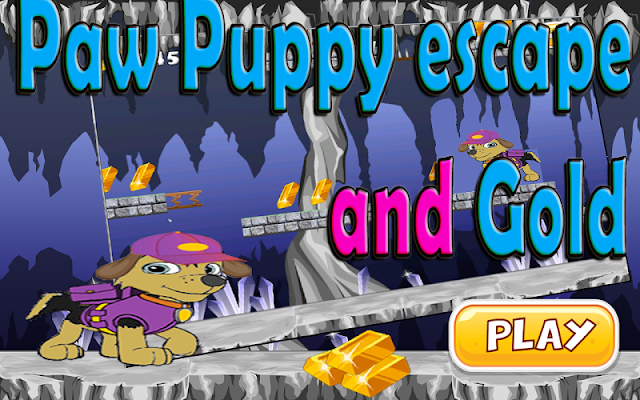 Paw Puppy Escape And Gold - screenshot
