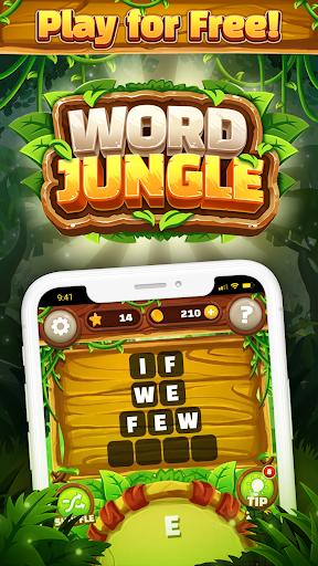 Word Jungle - FREE Word Games Puzzle apktram screenshots 1