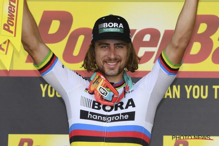 Sagan wordt uitgenodigd voor mountainbike-koers, maar dat pakt niet goed uit