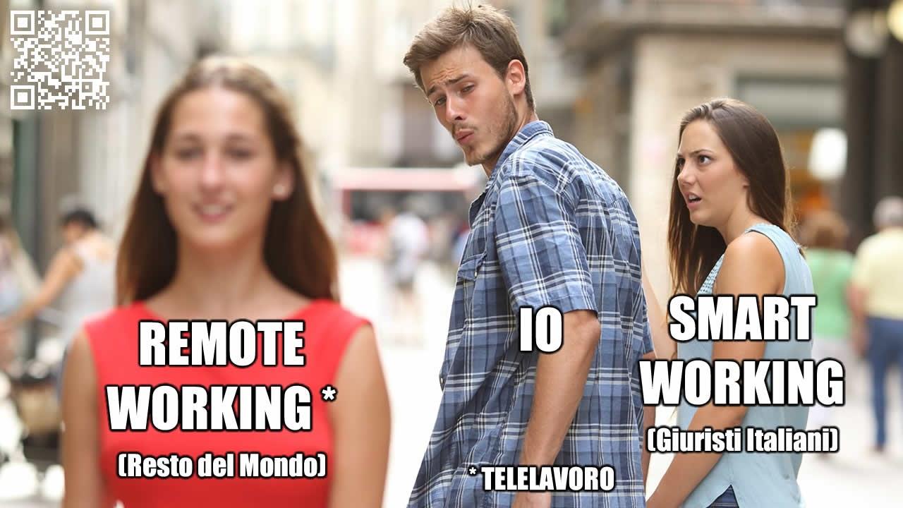 Smartworking vs Remote Working (Telelavoro)