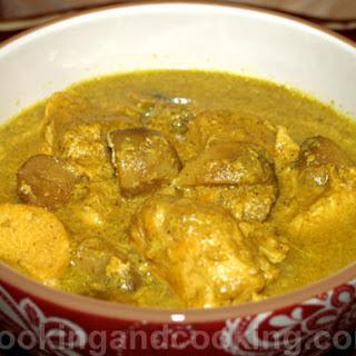Curried Chicken Mushroom Stew