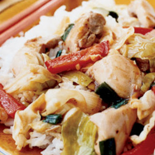 Chicken and Cabbage Stir-Fry Recipe