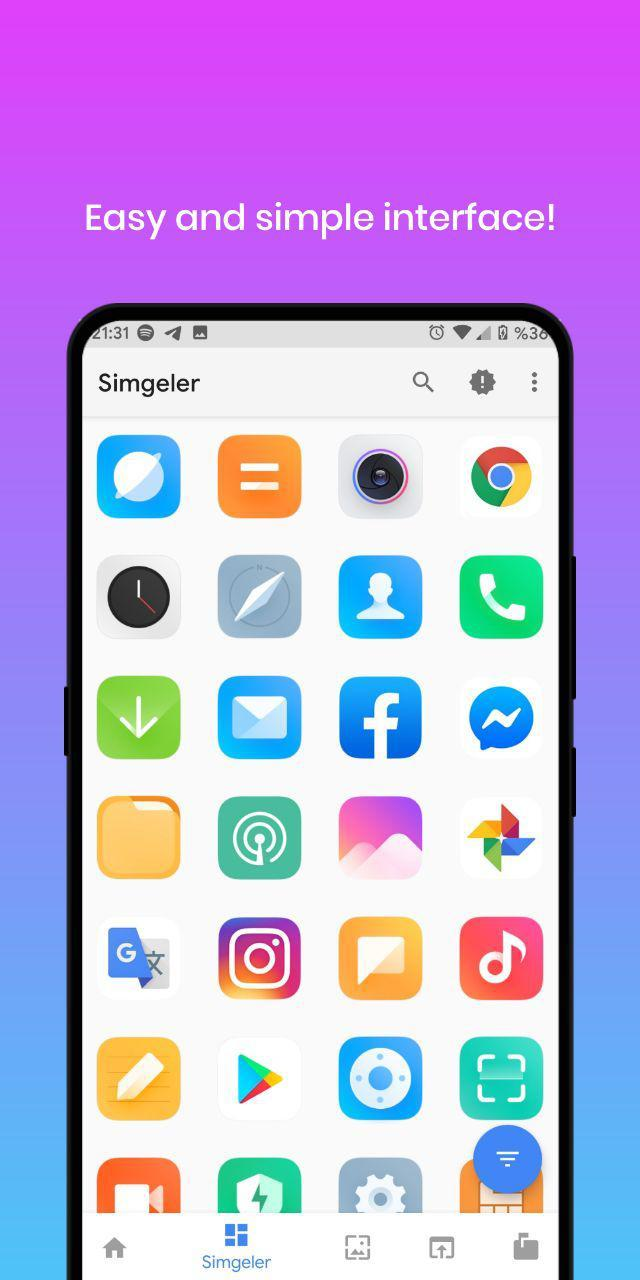 MIUI11 - Icon Pack Screenshot 1