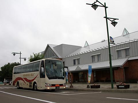 網走バス「千歳オホーツクエクスプレス」 ・271 「道の駅りくべつ」にて_02