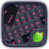 Pink Glow Go Keyboard Theme
