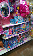 Photo: On the next aisle over I finally found The Little Mermaid dolls, yay!