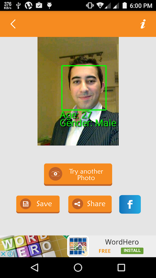 facial recognition lets apps guess your