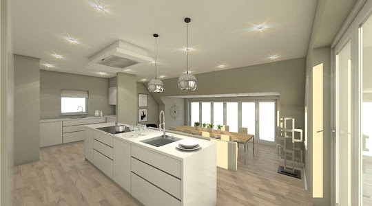 Architect in Buckinghamsire & Hertfordshire | Kitchen Plan