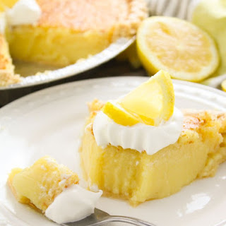Sweet Dough Lemon Pie Recipes