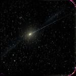 Meteors star night wallpaper Icon
