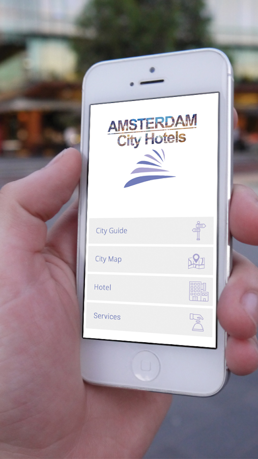 Amsterdam City Hotels- screenshot