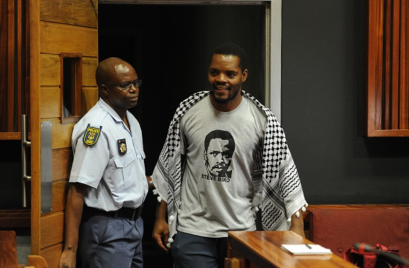 Student activist and #FeesMustFall campaign leader Mcebo Dlamini.