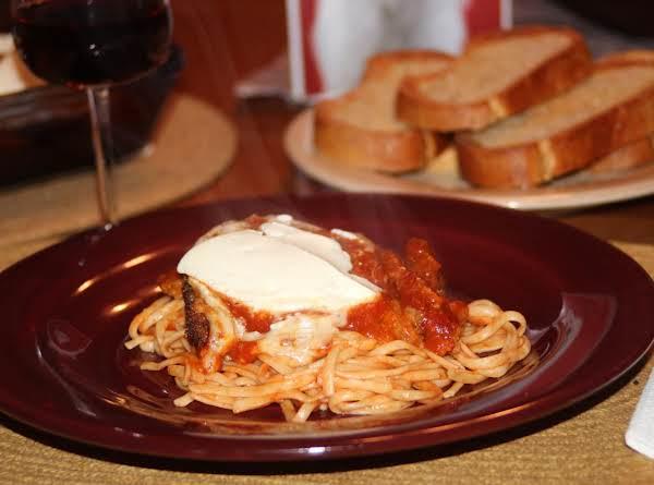 Fried Eggplant Parmigiana Recipe