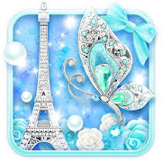 App Turquoise Diamond Butterfly Live Wallpaper APK for Windows Phone
