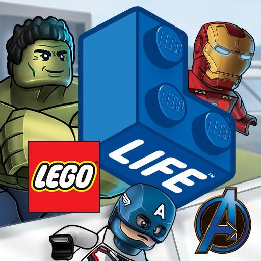 LEGO® Life: Safe Social Media for Kids Icon