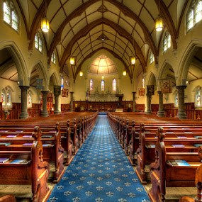 The Scots' Church by Jason Asher - Buildings & Architecture Other Interior ( scots, god, the scots church, church, presbyterian, theism, melbourne, scots church, theist, religion, holy place, protestant, victoria, vic, stained glass, religious )