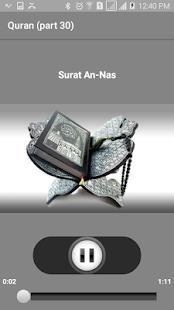 Quran teacher (Juz' 30) - náhled