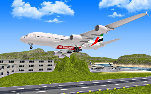 Airplane Fly 3D : Flight Plane androidiapk screenshots 1