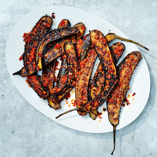 Red Curry–Marinated Japanese Eggplant