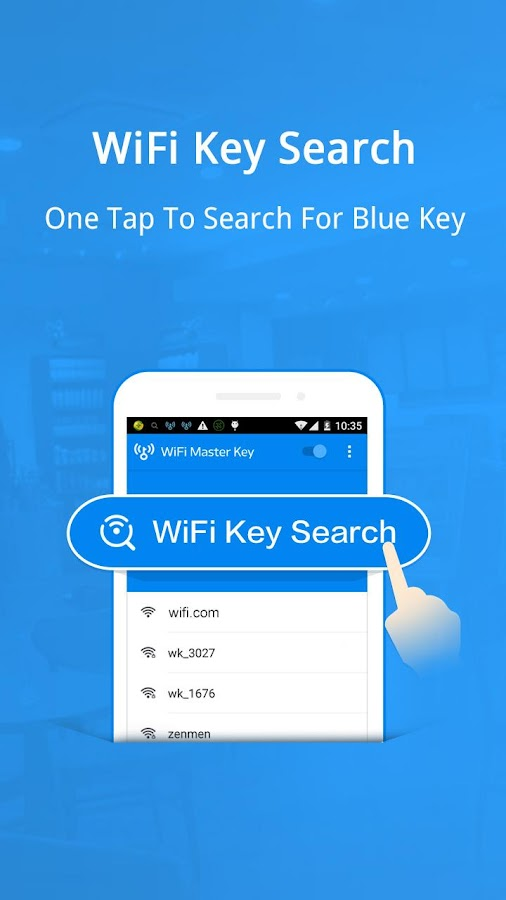 WiFi Master Key - by wifi.com- screenshot