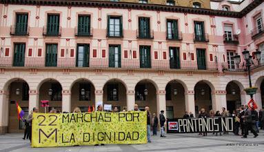 Photo: Marcha de la Dignidad. Huesca. 21.03.2015 Junto a CEOS