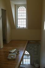 Photo: April 2006 - Month 32: Third floor stairwell.