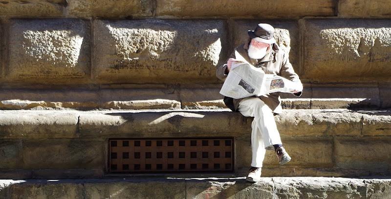 Unknow man in Firenze di Frizio