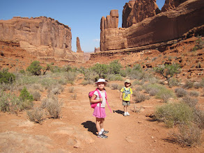 Photo: Short Walk on Park Avenue trail in Arches