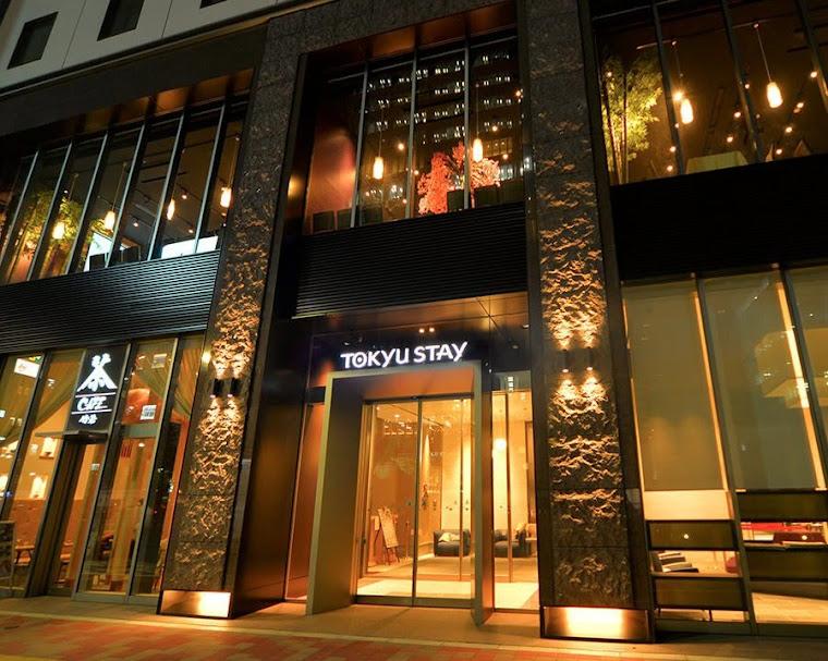 【画像】ホテル東急ステイ銀座外観