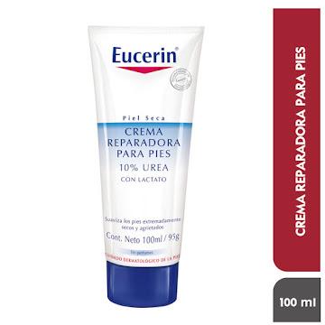 Crema EUCERIN reparadora   pies 10% urea con lactato x95g