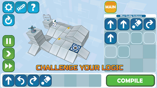 Coddy: World on Algorithm Screenshot