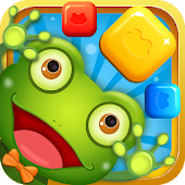 Frog Crush:Collapse Blast Puzzle