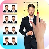 Passport Size Photo Maker : ID Proof Photo Editor