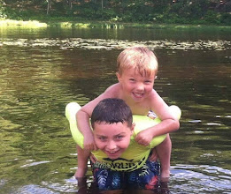 Photo: Swimming in the Pond